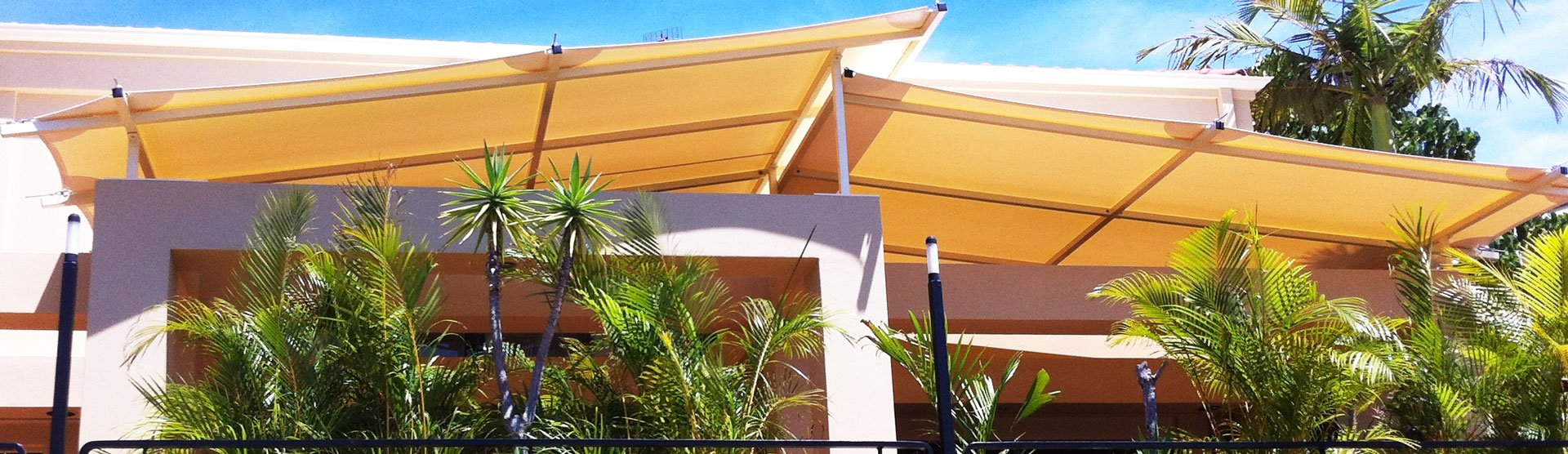 Outdoor Shade Sail Patio