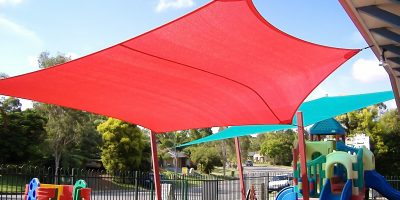 shade sail kindy