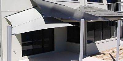 pvc shade sails