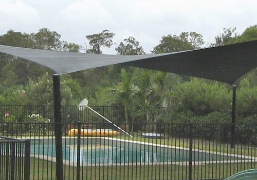 Shade Sail patio
